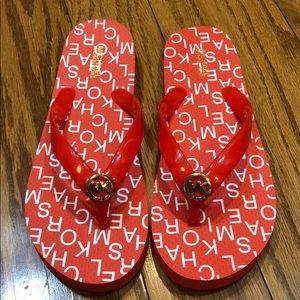 NWOT Michael Kors flip flops